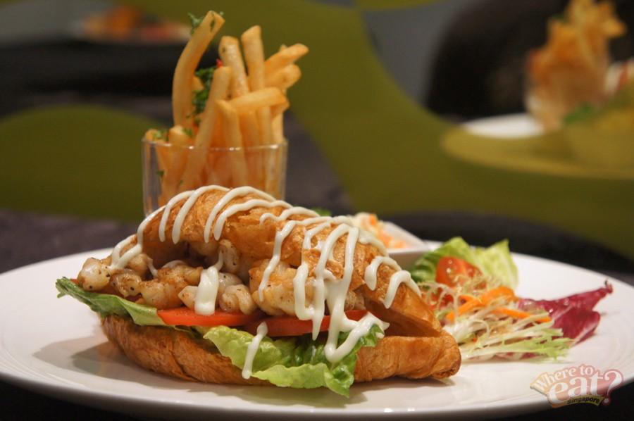 Cherie's Slipper Lobster Croissant